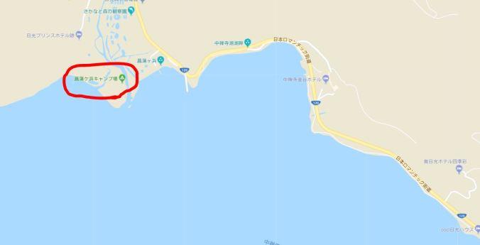菖蒲が浜キャンプ場